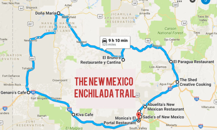 new mexico s enchilada trail try 10 of the state s best