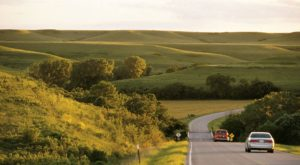 A Drive Down Kansas's Loneliest Road Will Take You Miles And Miles Away From It All