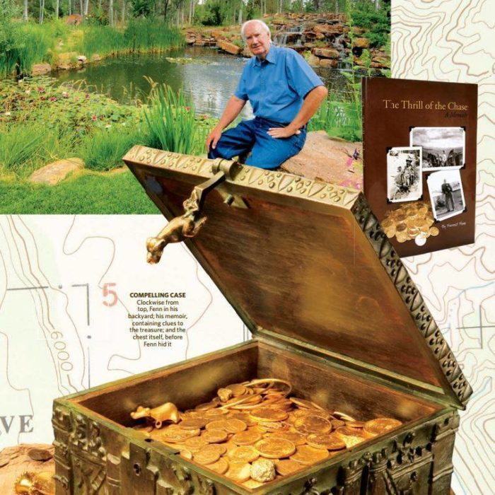 There May Be A Huge Treasure Buried in New Mexico