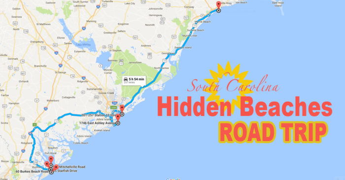 The Hidden Beaches Road Trip That Will Show You South