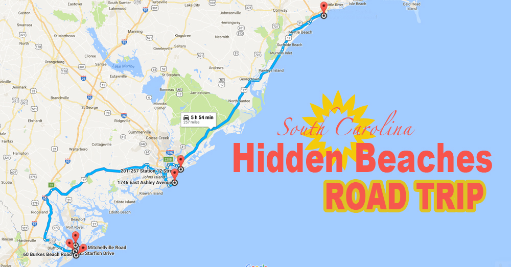 The Hidden Beaches Road Trip That Will Show You South Carolinas Coast Like Never Before