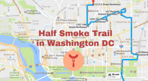 There's Nothing Better Than This Mouthwatering Half Smoke Trail In Washington DC