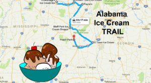 This Mouthwatering Ice Cream Trail In Alabama Is All You've Ever Dreamed Of And More
