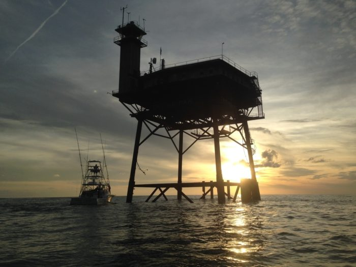Frying Pan Tower The Hotel In The Middle Of The Ocean Off
