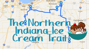This Mouthwatering Ice Cream Trail In Northern Indiana Is All You've Ever Dreamed Of And More