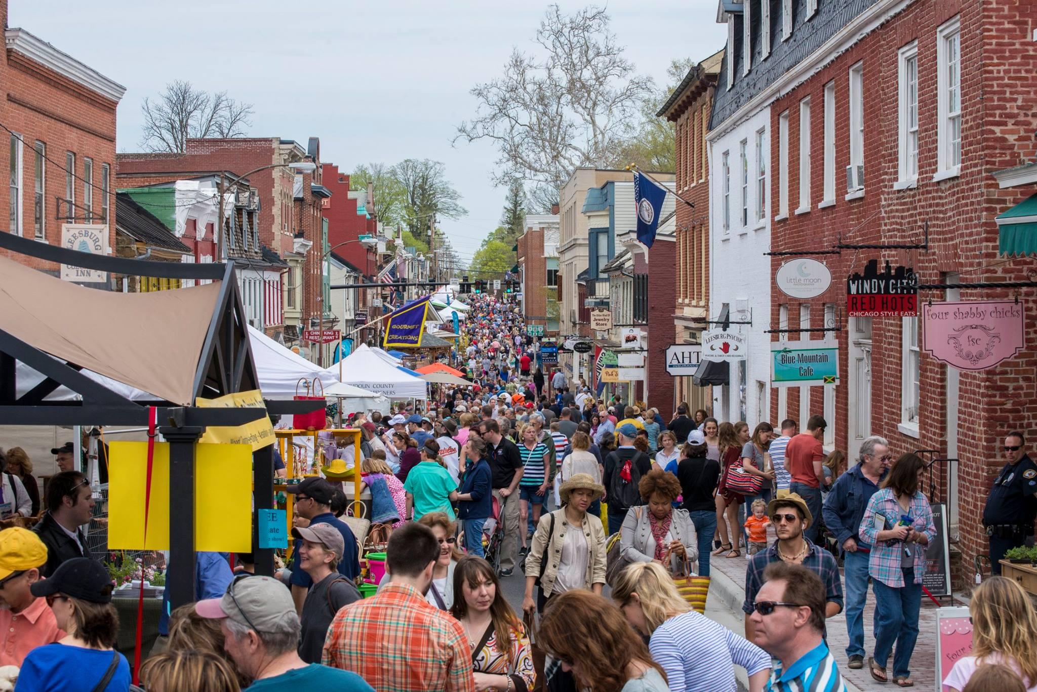 13 best small towns festivals near washington dc - Leesburg flower and garden festival 2017 ...