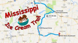 This Mouthwatering Ice Cream Trail In Mississippi Is All You've Ever Dreamed Of And More