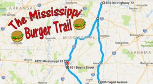There's Nothing Better Than This Mouthwatering Burger Trail In Mississippi
