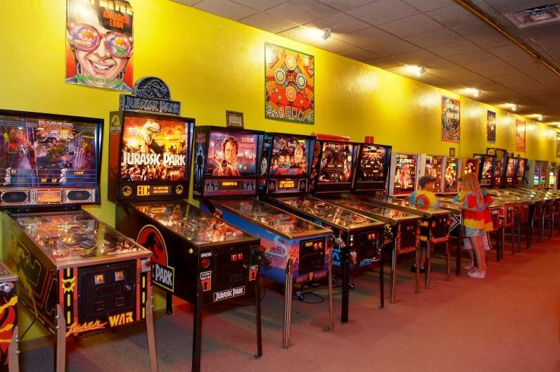 The American Classic Arcade Museum In Laconia Is The World