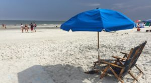 The Underrated Beach With The Whitest, Most Pristine Sand In South Carolina