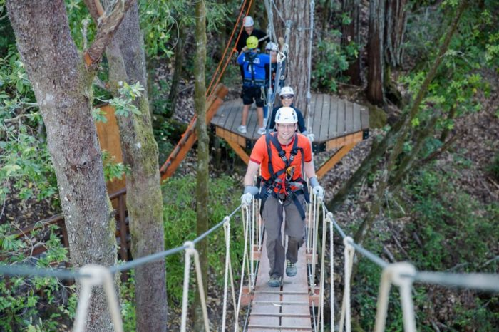 ... to experience a canopy tour and zip line experience like this one. How cool is it that we have something like this right here in Northern California? & The Sonoma Canopy Tour Is A Thrilling Canopy Walk In Northern ...