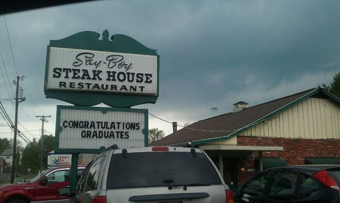Say Boy Steak House In Fairmont West Virginia Has Been A Por Family Owned Dinner Destination Since 1960