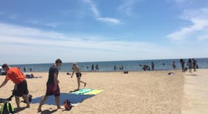 The Underrated Beach With The Whitest, Most Pristine Sand Near Detroit