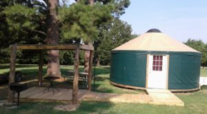 The Secluded Glampground In Oklahoma That Will Take You A Million Miles Away From It All