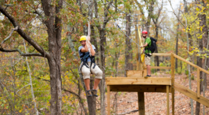 The Epic Canopy Course In Oklahoma That Will Bring Out The Adventurer In You