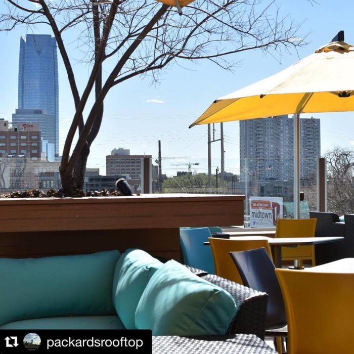 Packard S American Kitchen The Rooftop Restaurant In