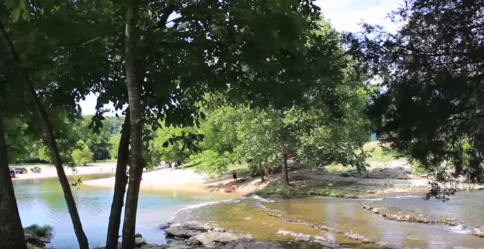 Hard Water Areas >> Blue Hole Park In Oklahoma Is The Best Place To Spend A Summer's Day