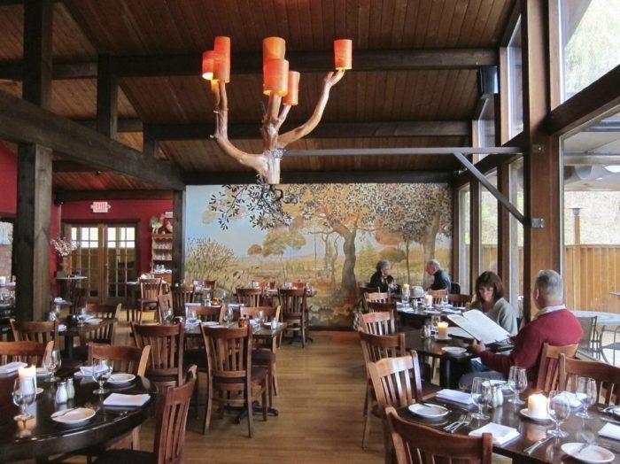 New York S Peekamoose Restaurant Is Tucked Away Within A
