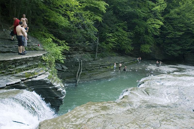 zoar valley swimming hole is buffalo u0026 39 s best spring