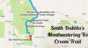 This Mouthwatering Ice Cream Trail In South Dakota Is All You've Ever Dreamed Of And More