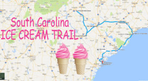 This Mouthwatering Ice Cream Trail In South Carolina Is All You've Ever Dreamed Of And More