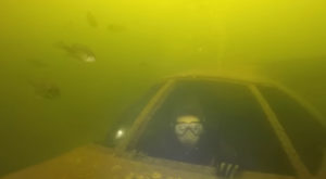 Most People Don't Know There's A Sunken Plane Deep Below This Lake In South Carolina