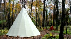 The Secluded Glampground In Maryland That Will Take You A Million Miles Away From It All