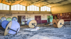 We Found Staggering Photos Of An Abandoned College Hiding In Tennessee