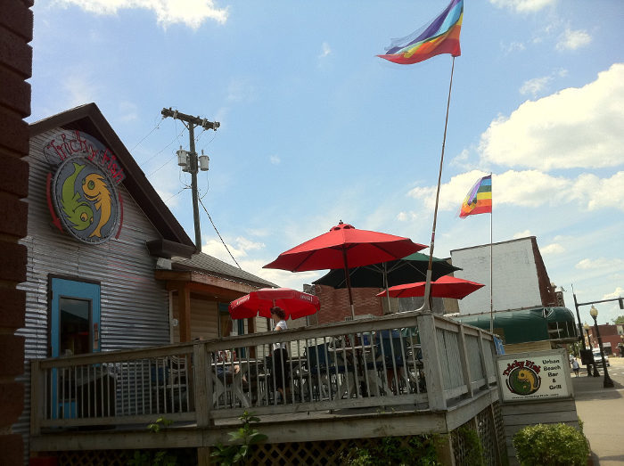 8 west virginia restaurants with the best outdoor dining for Fish store virginia beach