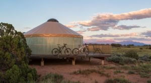 Spend The Night In A Yurt At This Gorgeous Utah State Park