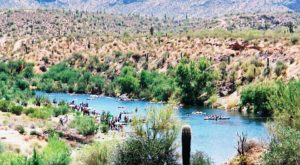 There's Nothing Better Than Arizona's Natural Lazy River On A Summer's Day