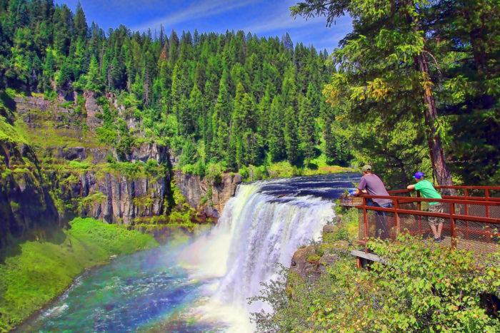 Mesa Falls, Idaho - Road Trip