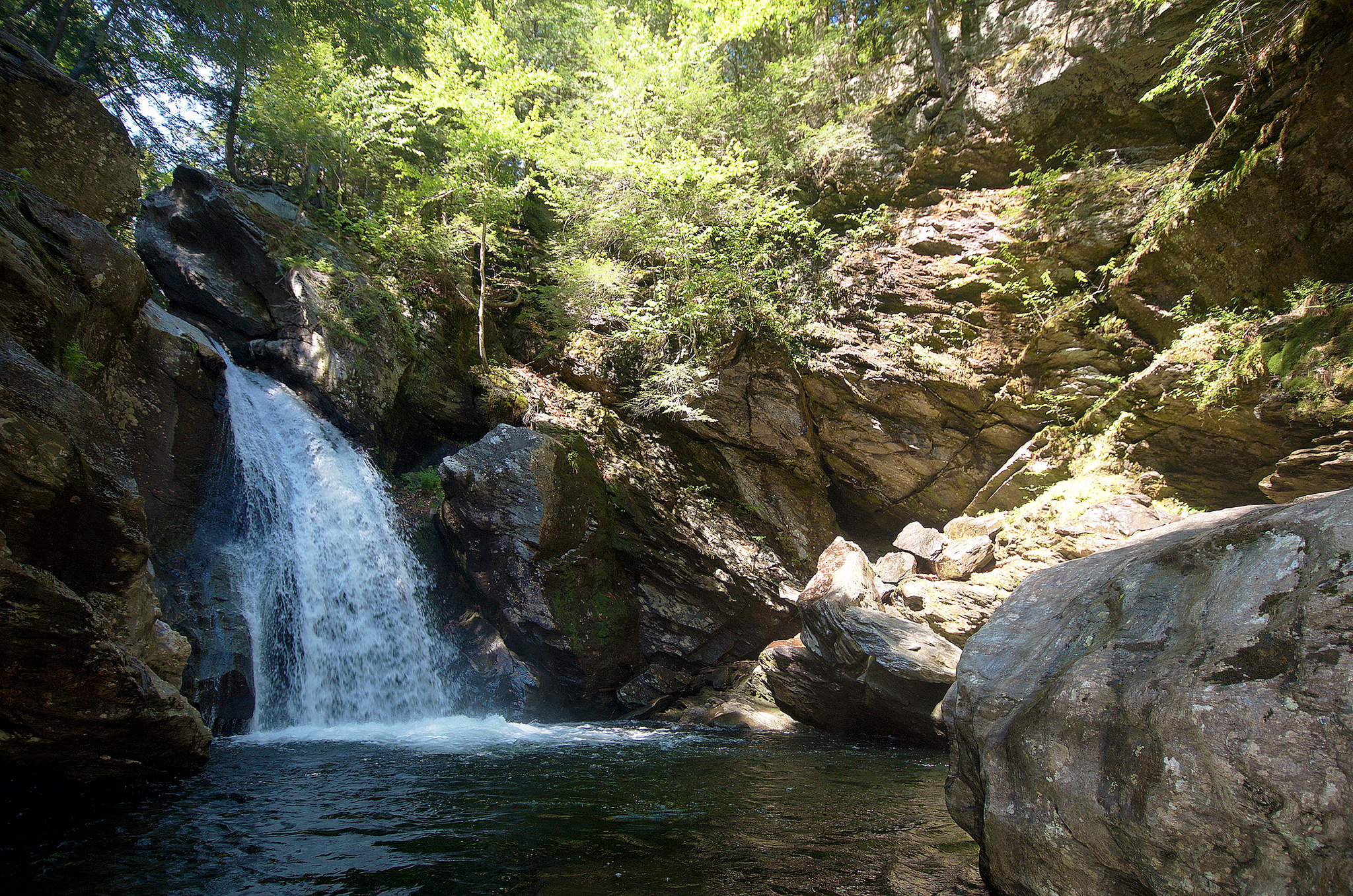 New England as I see it: A Vermont Swimming Hole