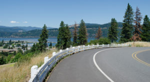 A Drive Down Portland's Loneliest Road Will Take You Miles And Miles Away From It All