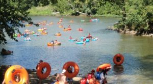 There's Nothing Better Than West Virginia's Natural Lazy River On A Summer's Day