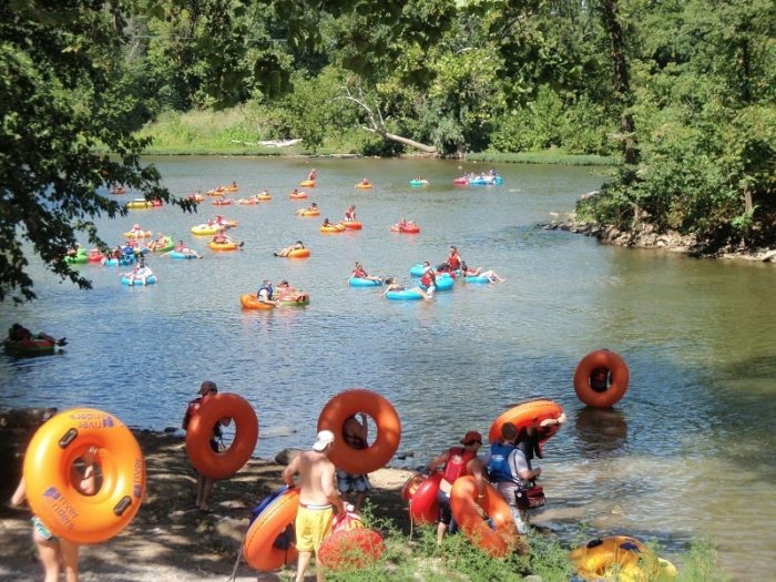 The Shenandoah River Is West Virginia S Natural Lazy River