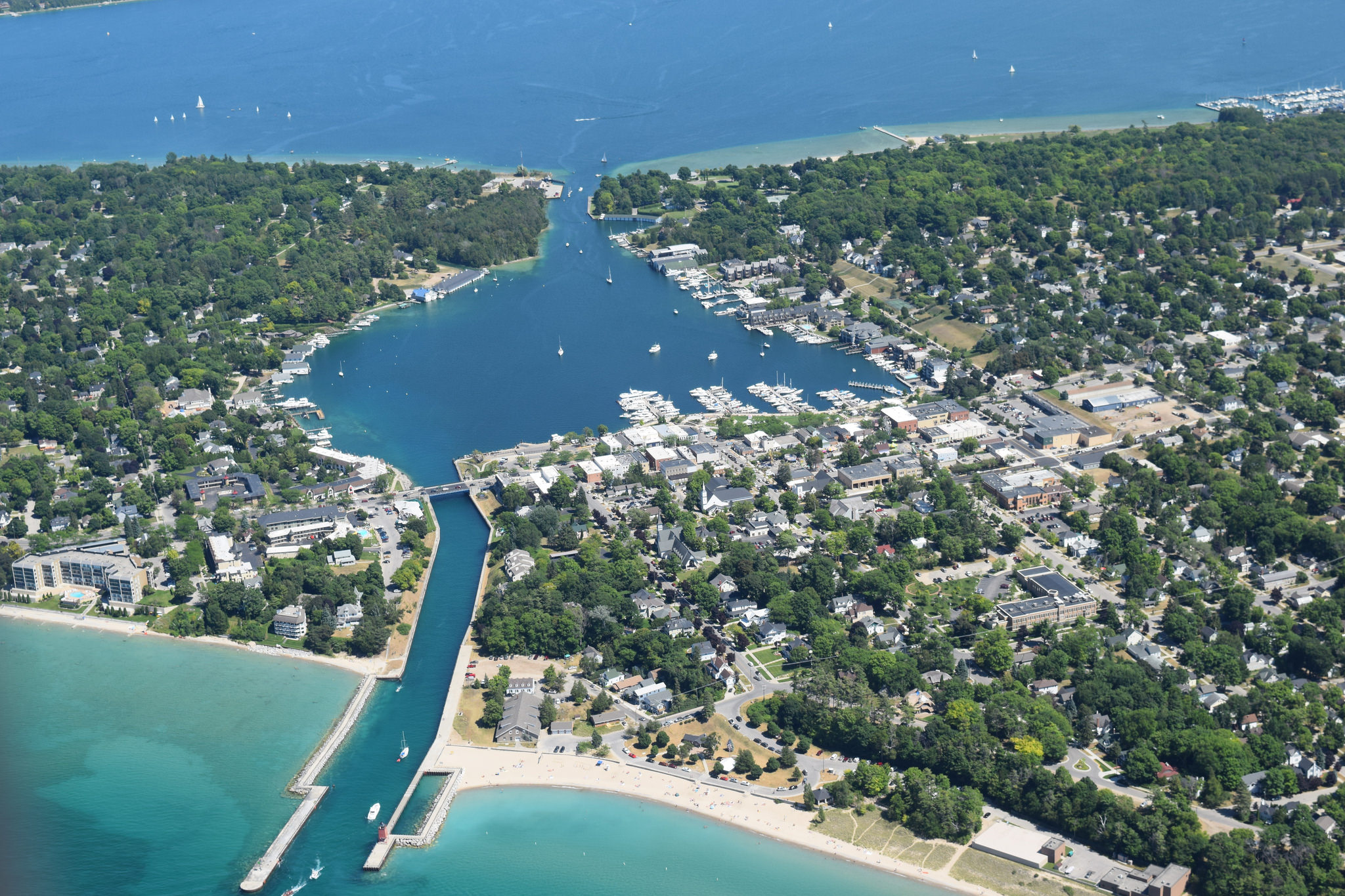Charlevoix Is Most Naturally Beautiful Town In Michigan