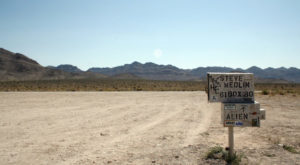 This Nevada Mountain Is The Only Place To Legally See Area 51