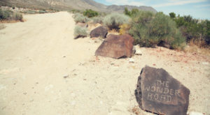 You'll Never Forget A Journey Down This Mile-Long Dirt Road In Nevada