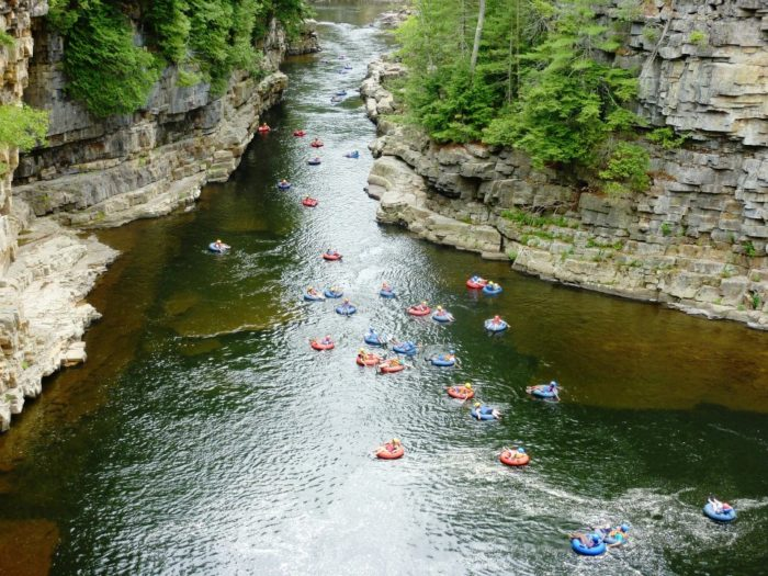 Float Tour Ausable Chasm