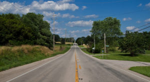 A Drive Down Indiana's Loneliest Road Will Take You Miles And Miles Away From It All