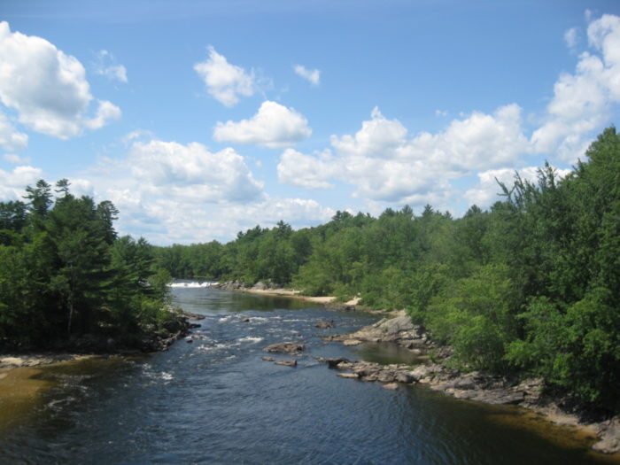 Tubing On Saco River Is A Perfect New Hampshire Summer Activity - A long river