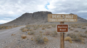 No One Knows Just How Deep Nevada's Devil's Hole Really Is