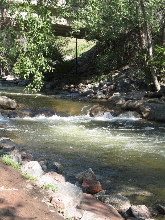Boulder creek is the best lazy river near denver for Boulder creek fishing