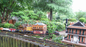 There's A Train Garden In Louisiana And It's Just As Enchanting As It Sounds