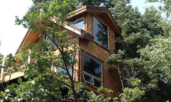 park city utah treehouse  sleep under the trees