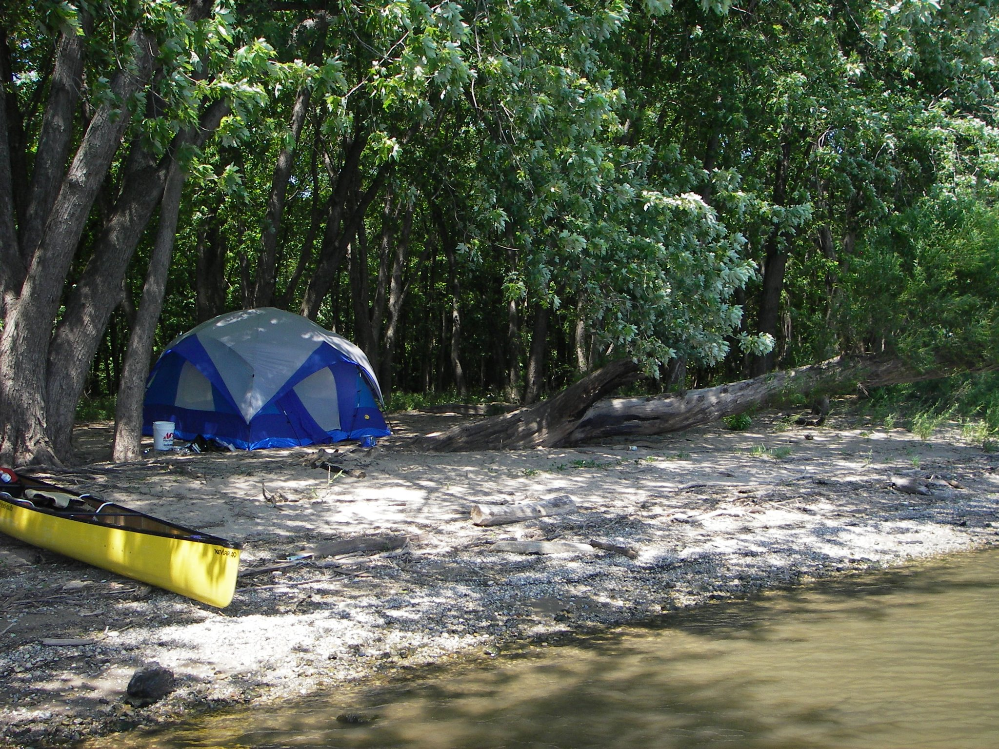The Best Spot For Beach Camping In Illinois
