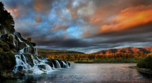 The Waterfall Swimming Hole In Idaho That Will Make Your Summer Complete