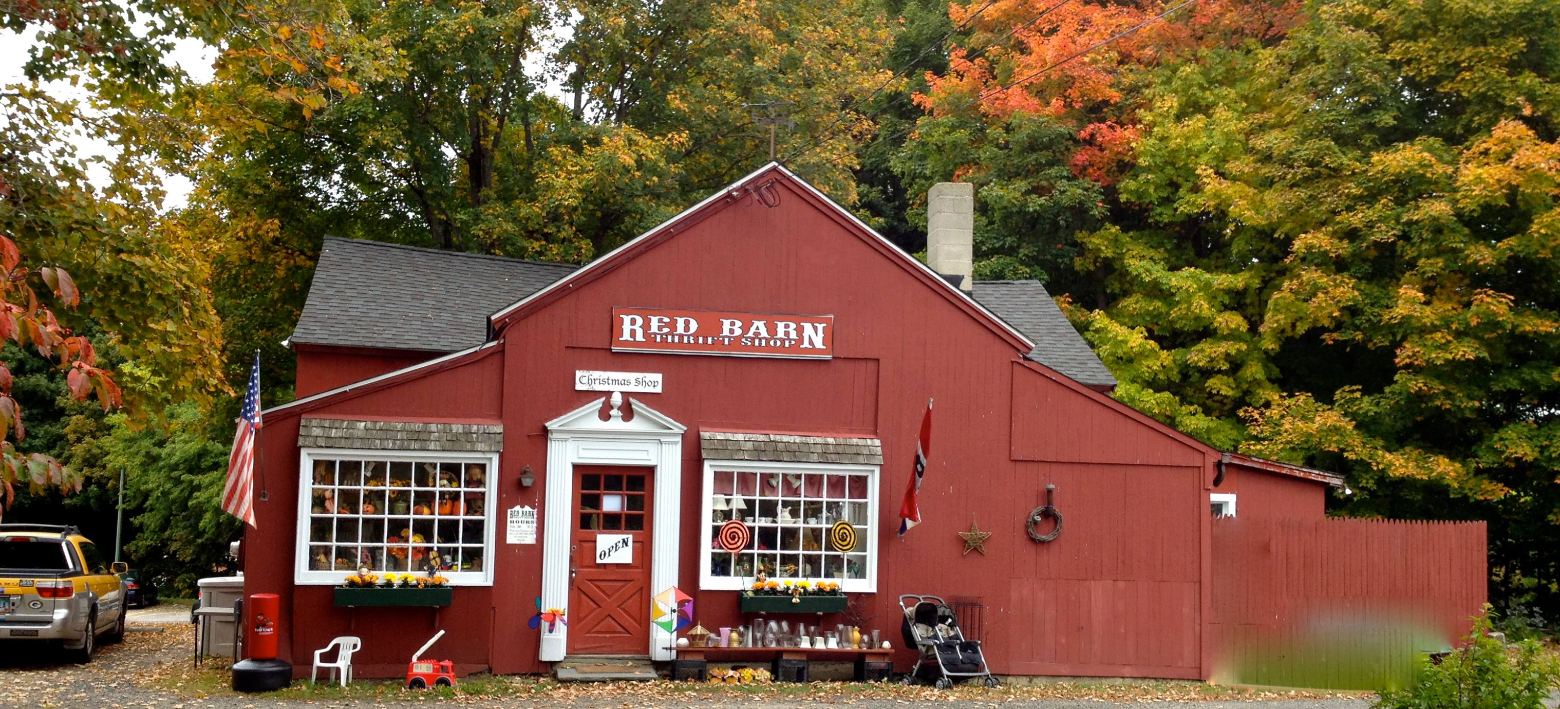The Red Barn Thrift Shop In Connecticut Is Amazing
