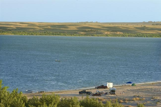 Rv Rent To Own >> Camp Right On The Beach At Lake McConaughy In Nebraska